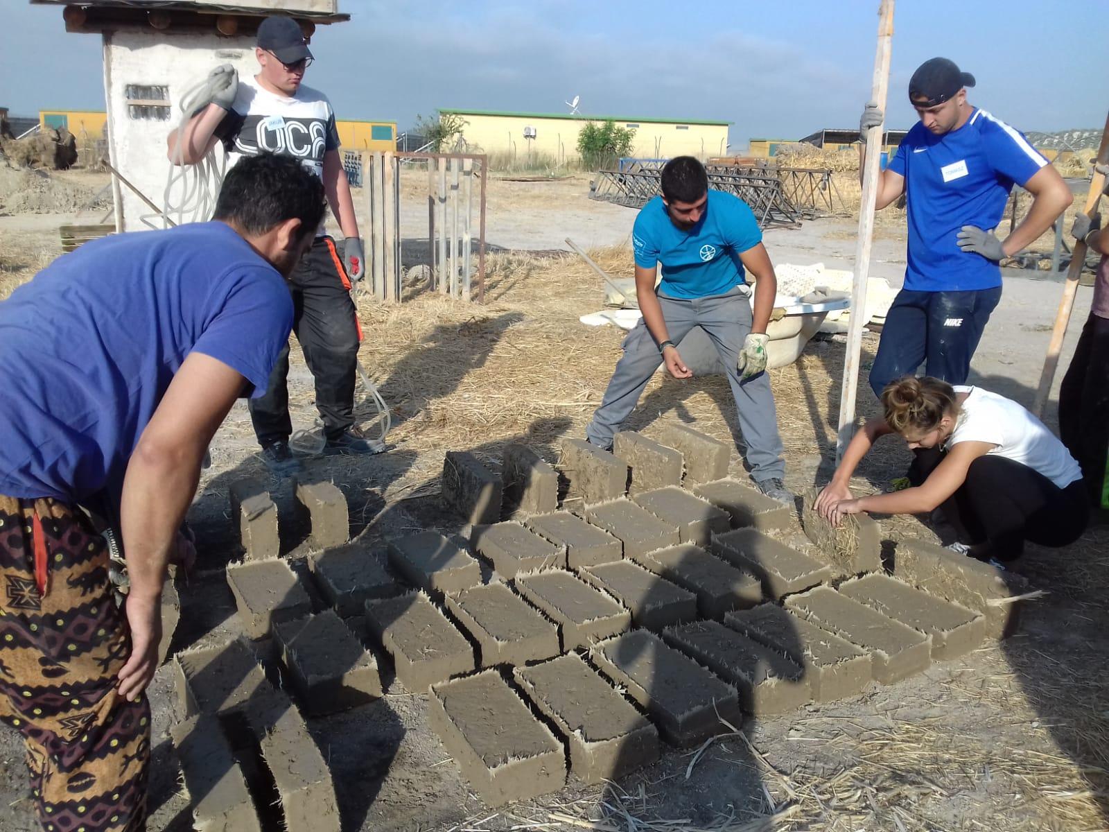 working with bricks